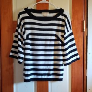 MICHAEL Michael Kors striped sweatern size medium
